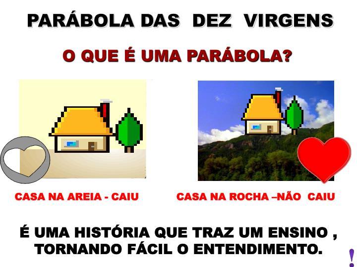 PARÁBOLA DAS  DEZ  VIRGENS