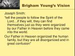 brigham young s vision