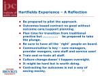hartfields experience a reflection