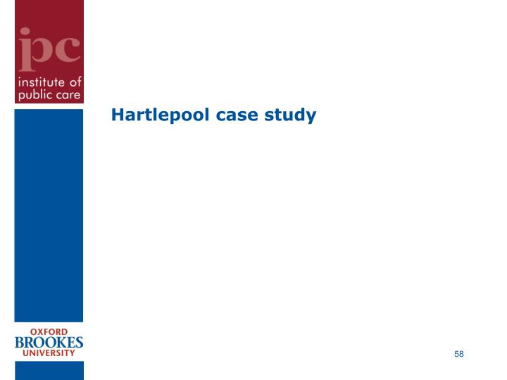Hartlepool case study