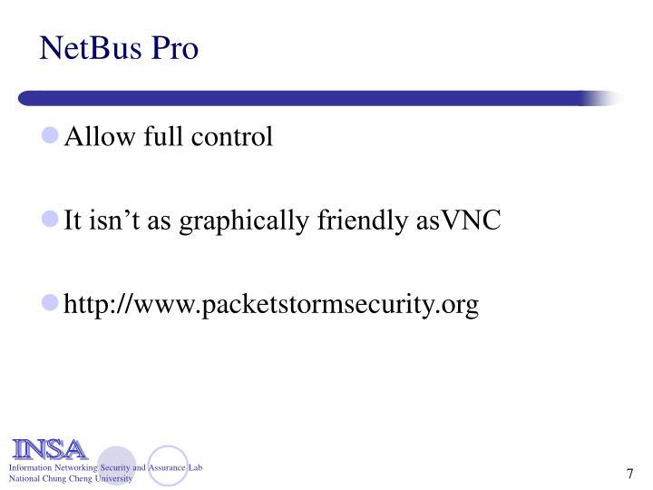 NetBus Pro