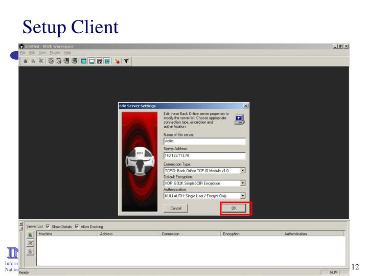 Setup Client
