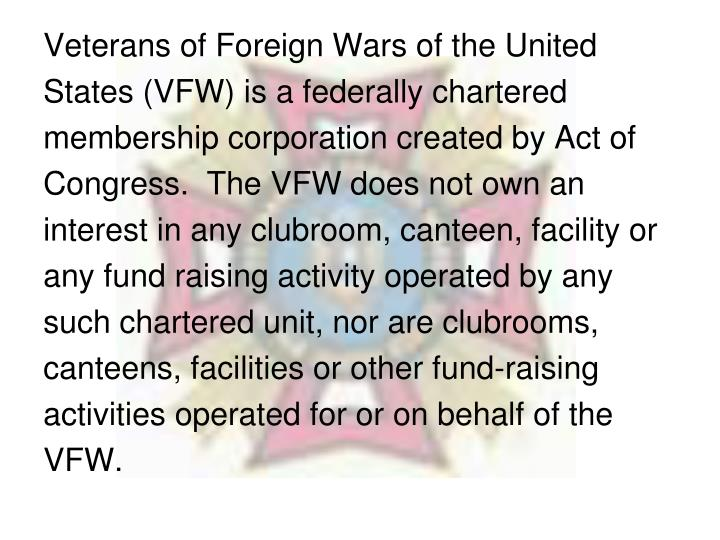 Veterans of Foreign Wars of the United