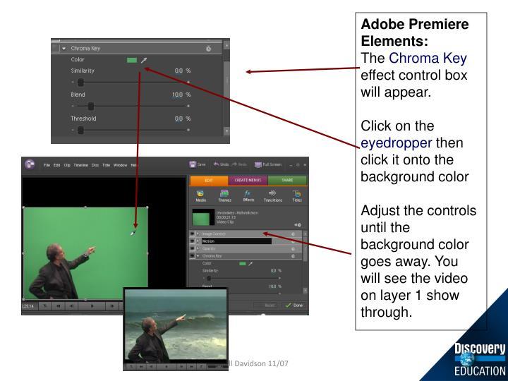 Adobe Premiere Elements: