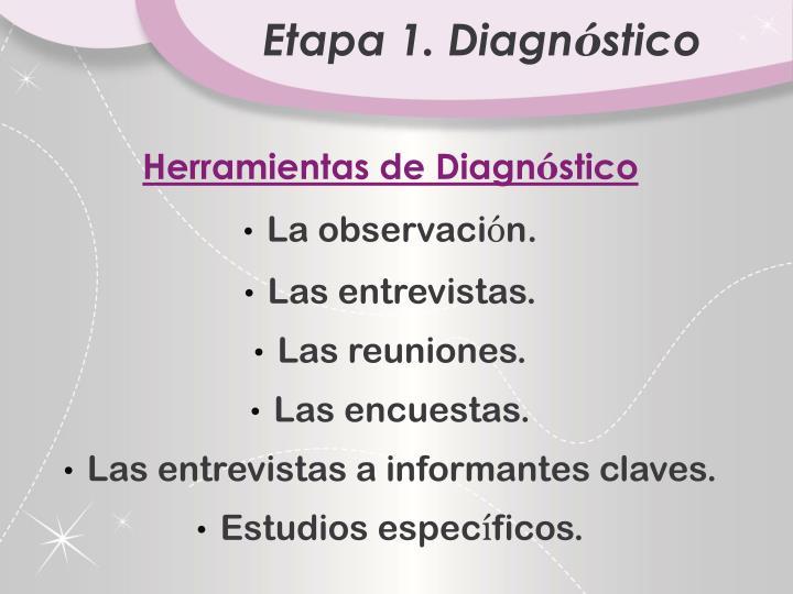 Etapa 1. Diagn
