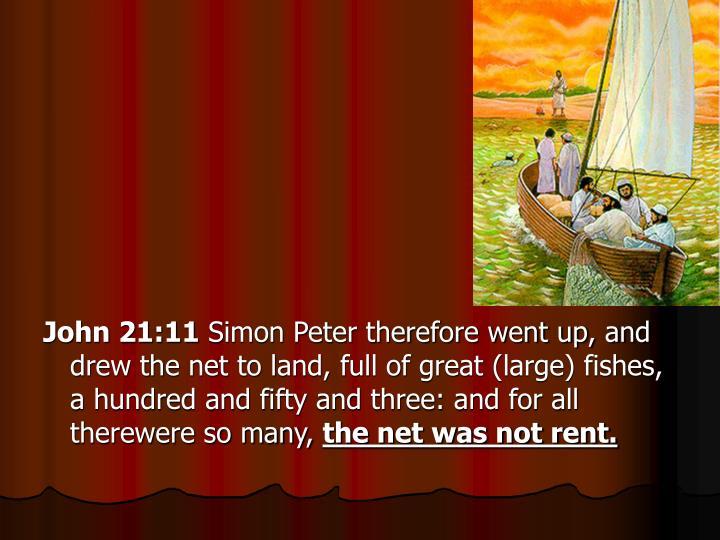 John 21:11