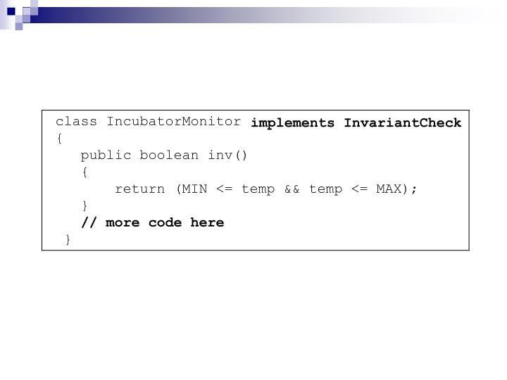 implements InvariantCheck