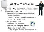 what to compete in