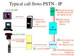 typical call flows pstn ip