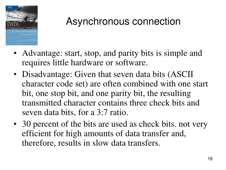 Asynchronous connection