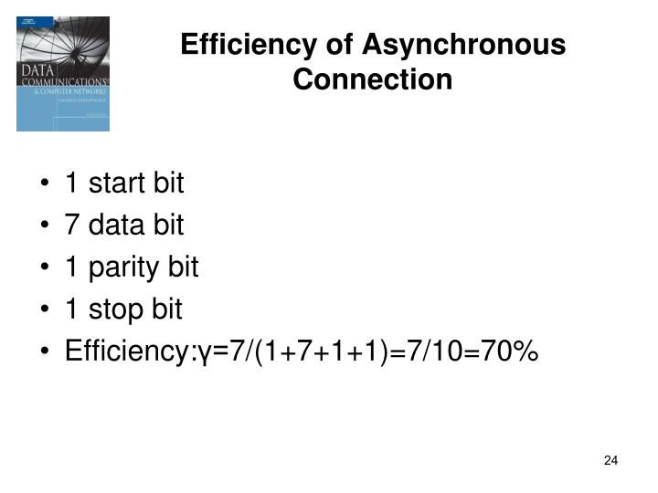 Efficiency of Asynchronous Connection
