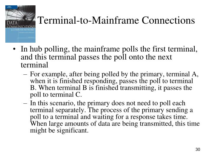 Terminal-to-Mainframe Connections