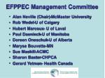 efppec management committee