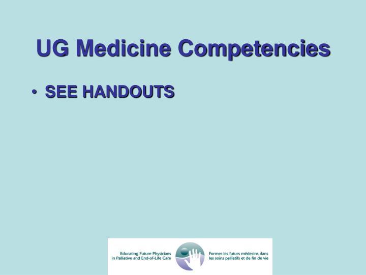 UG Medicine Competencies