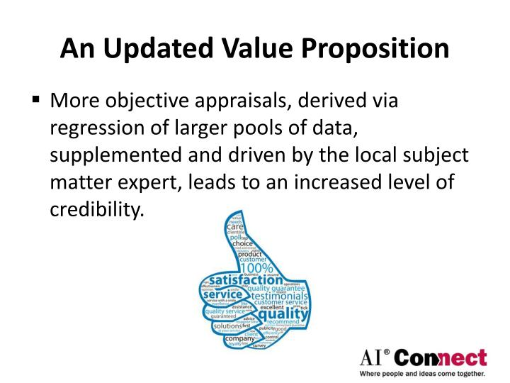 An Updated Value Proposition