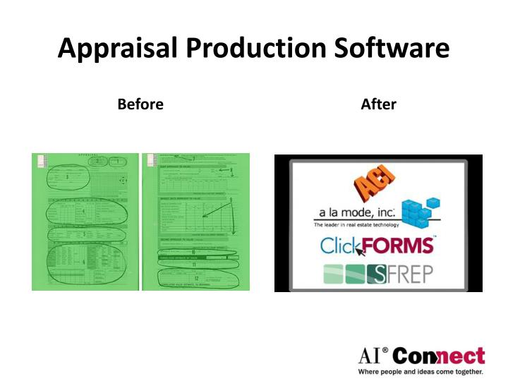 Appraisal Production Software