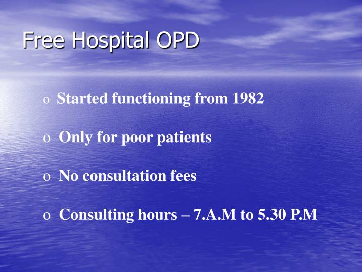 Free Hospital OPD