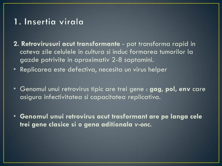 1. Insertia virala