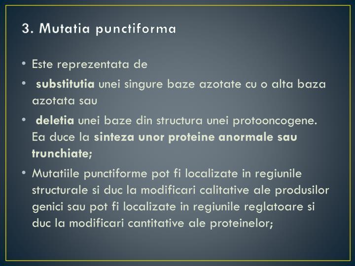 3. Mutatia punctiforma