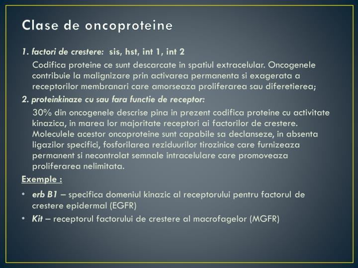 Clase de oncoproteine