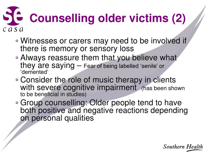 Counselling older victims (2)