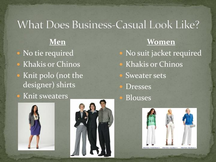 What Does Business-Casual Look Like?