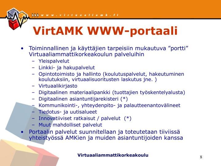 VirtAMK WWW-portaali