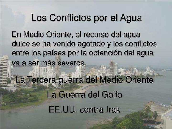Los Conflictos por el Agua