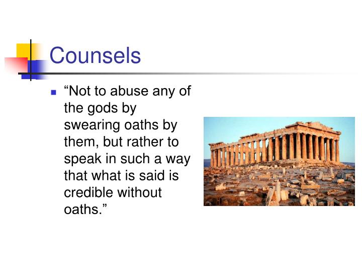 Counsels
