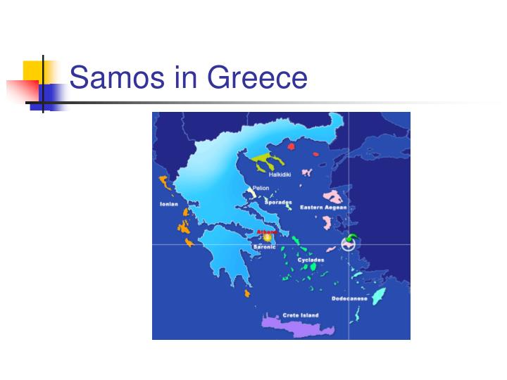 Samos in Greece