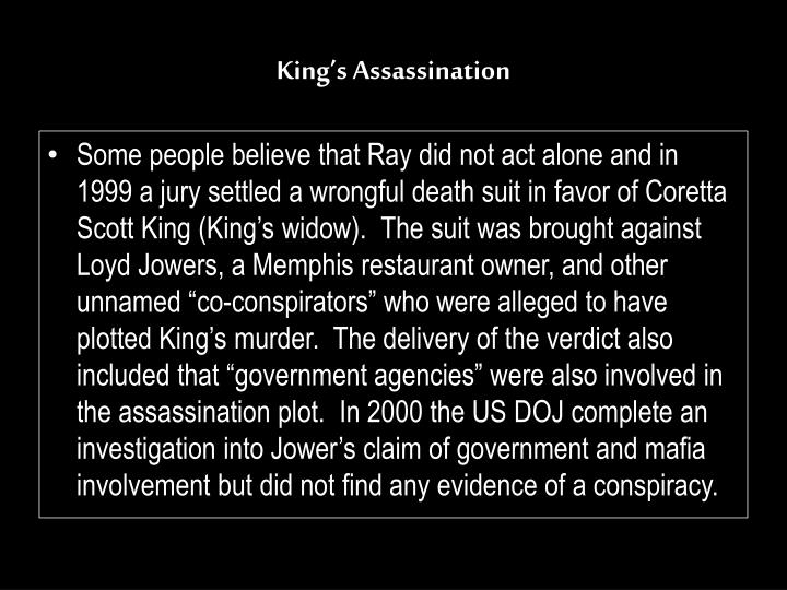 King's Assassination