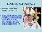conclusion and challenges