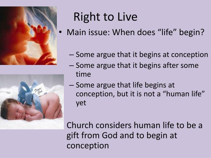 Right to Live