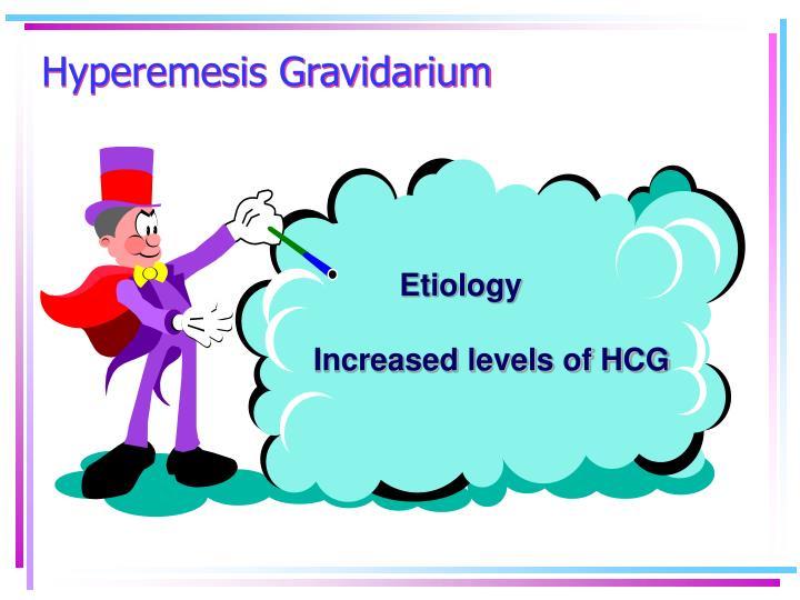 Hyperemesis Gravidarium