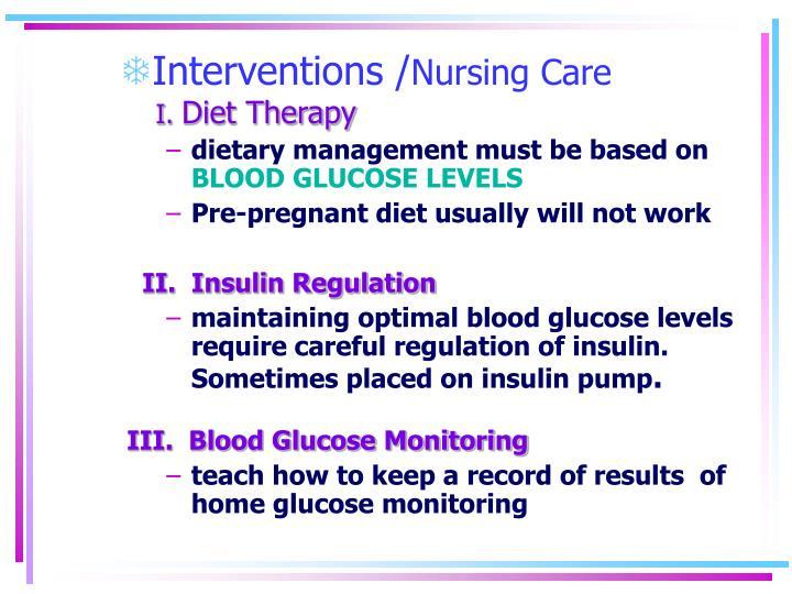 Interventions /