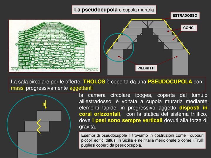 La pseudocupola
