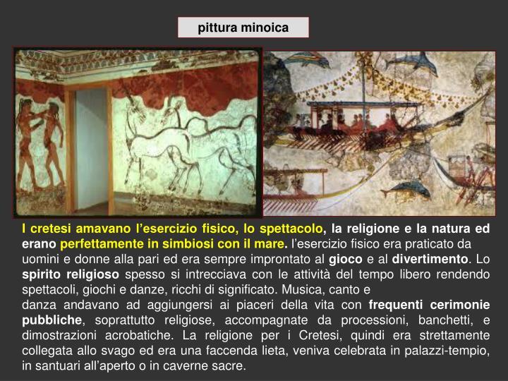 pittura minoica