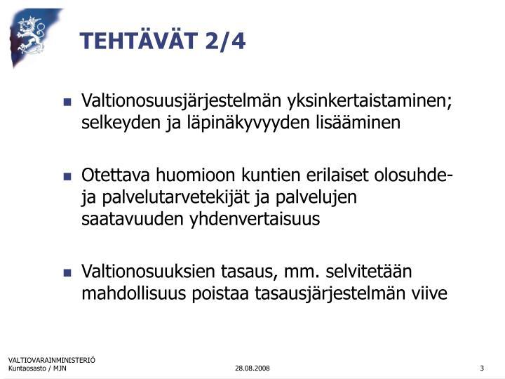 TEHTÄVÄT 2/4