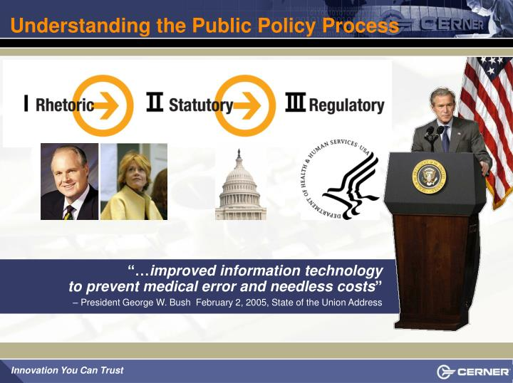 Understanding the Public Policy Process