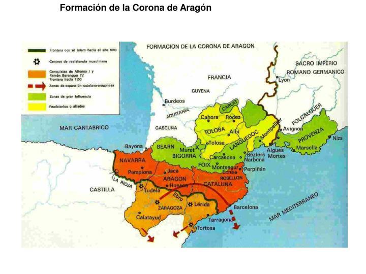 Formación de la Corona de Aragón