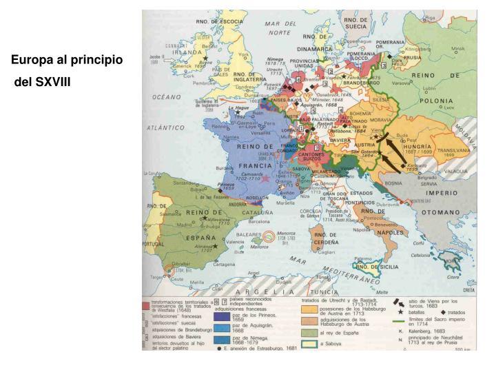 Europa al principio