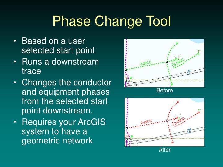 Phase Change Tool