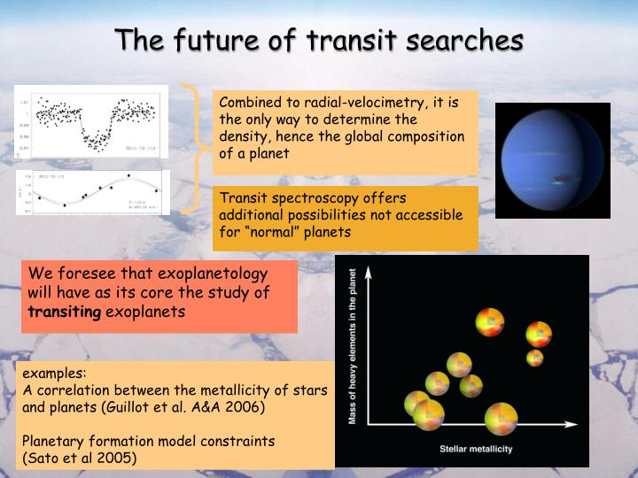The future of transit searches