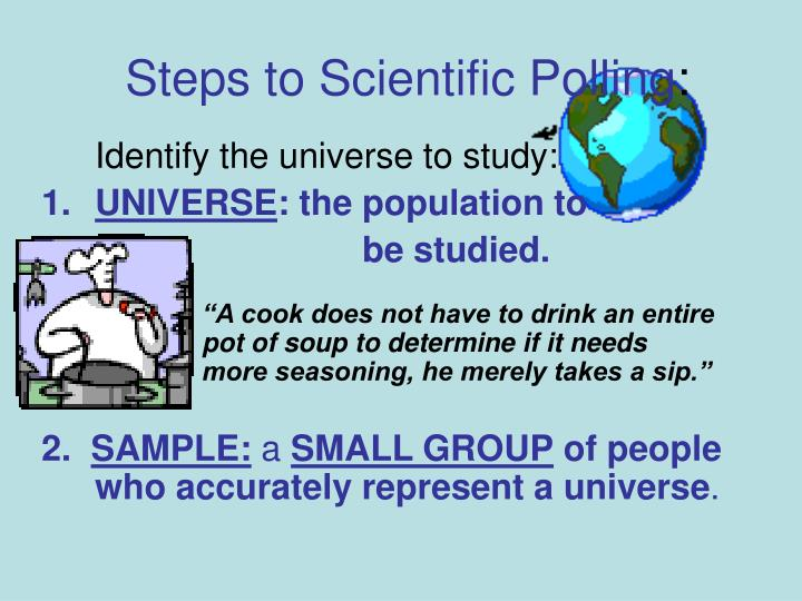 Steps to Scientific Polling