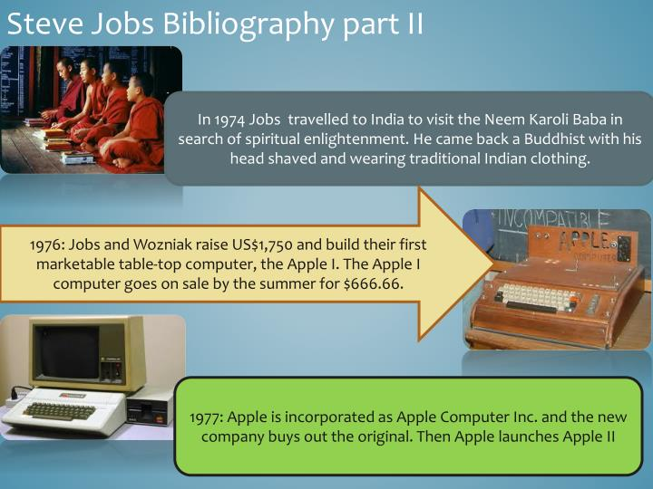 Steve Jobs Bibliography part II