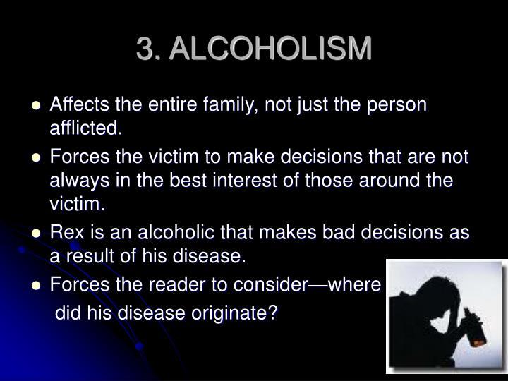 3. ALCOHOLISM