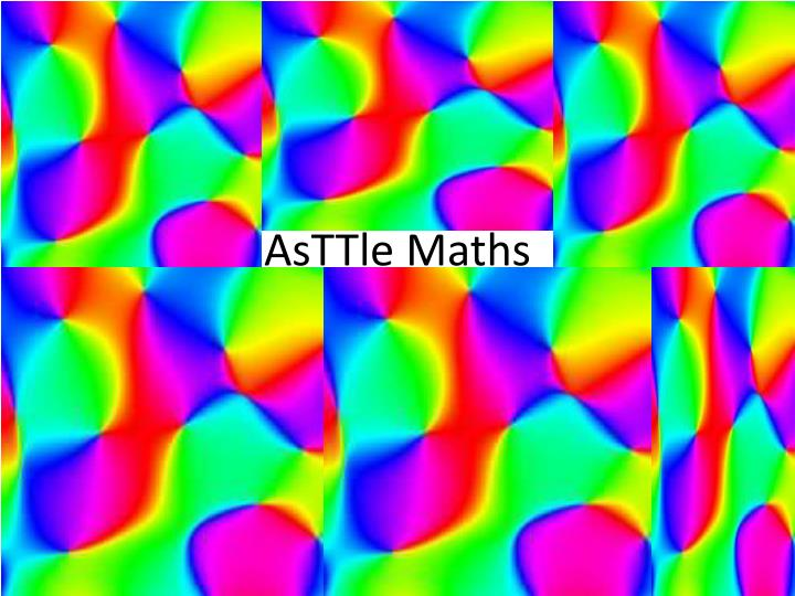asttle maths