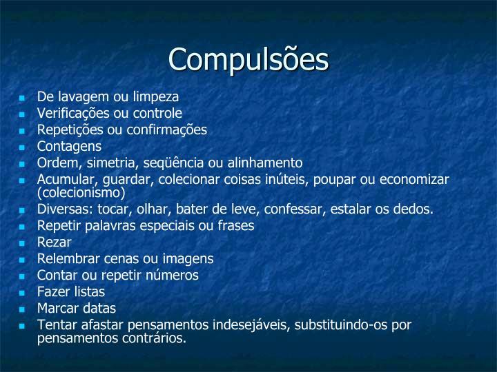 Compulsões