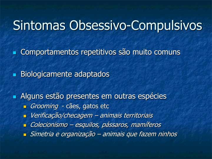 Sintomas Obsessivo-Compulsivos