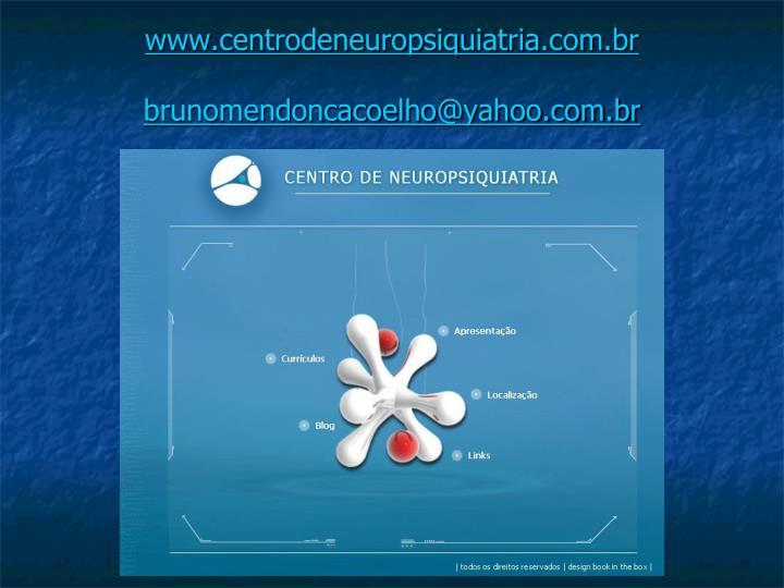 www.centrodeneuropsiquiatria.com.br